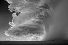 Black and white weather pictures by Mitch Dobrowner take top Sony World Photography Awards prize