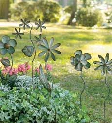 flower garden spinners.