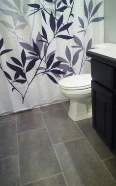 TrafficMaster Ceramica 12 in. x 24 in. Coastal Grey Vinyl Tile Flooring (30 sq. ft./case) $1.69 / sq. ft. $50.70 / case (covers 30 sq. ft.)