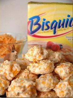 Today on the BBS Blog: Drool Recipe: Chicken & Cheese Doggie Breakfast Biscuits!! #dogtreatrecipe #dogtreats
