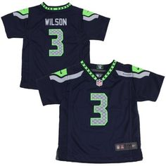Nike Russell Wilson Seattle Seahawks Infant Game Jersey - College Navy