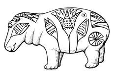 Ancient Egyptian design..inspiration for zentangle