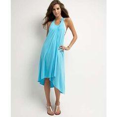 baby blue beach dress