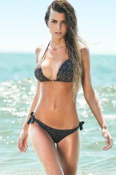 Sabz Swimwear 'Monaco Lush' Luxury Swimsuit by Sabz 2012 | The Orchid Boutique, sexy black bikini, swimsuit, swimwear p.0.2 ocean beach #KyFun