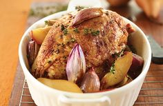 Brined, Slow-Cooked Turkey Breast | Yum! | Pinterest