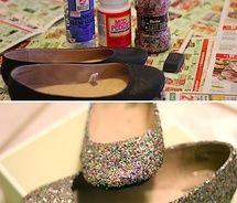 Glitter crafts