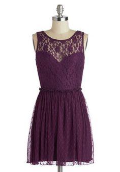 Plum Appetit Dress, #ModCloth