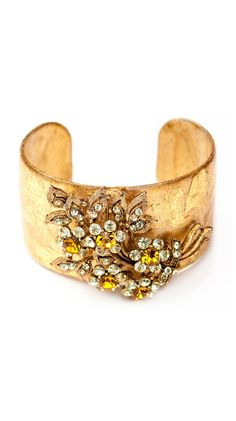 Gayle Vintage Cuff by Evocateur
