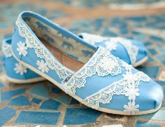 Lace TOMS - diy idea