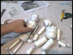 How to Make a Marionette (from Storm the Castle/ Epicfantasy) - Great intro to marionette making with kids.