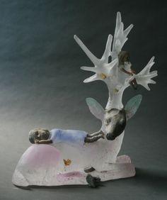 Christina Bothwell - World At My Feet, 2014 - Glass/Mixed Media