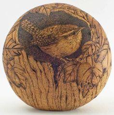 pyrography gourd gourd art, pyrographi gourd, woodburn