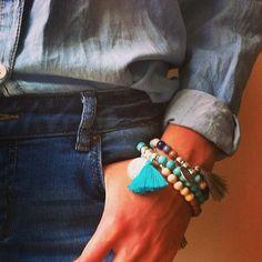 Pink Deer bracelets
