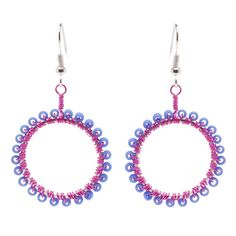 Hoops of a Different Color Earrings