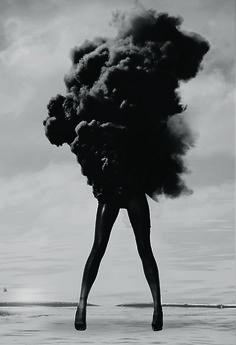 clouds, explosions, smoking, art, inspir, legs, smoke, black, photographi