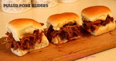 Pulled Pork. Pulled Pork Recipe, Sliders, Concordcottage.com