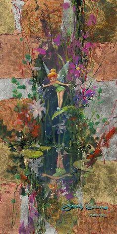 """A Fairy's Reflection"" ~ James Coleman"