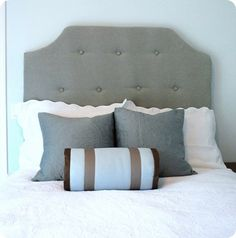 DIY tufted headboard - been wanting this but not in budget...until now??