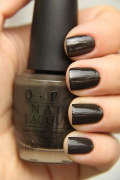 OPI-Get in the Expresso Lane - Fall Color