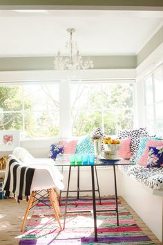 breakfast nook // Is