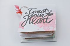 Trust Your Heart mini album via @Liz Mester Mester Kartchner