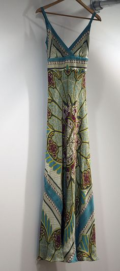 Boho maxi dress . . . great design.