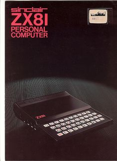 Sinclair ZX81 - 80s home computer