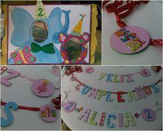 Bonita fiesta de cumple en fucsia y turquesa   DecoPeques -Decoración infantil, Bebés y Niños