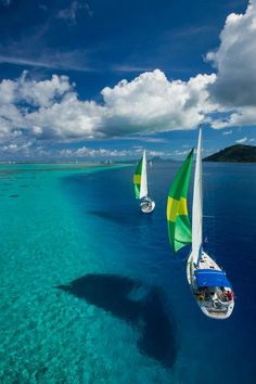 Tahiti and The Fiji Islands ♥ Heaven on Earth