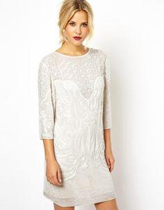 ASOS Baroque Embellished Dress $266.97