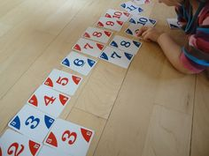 Interactive, hands-on Math activities for pre-k and k