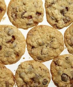 Toffee-Oat Chocolate Chip Cookies Recipe