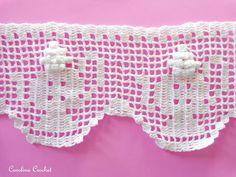Carolina Crochet: Meus novos barradinhos