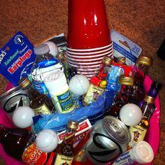 21st birthday survival kit