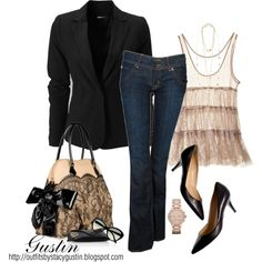 """""""lace bag"""" by stacy-gustin on Polyvore"""