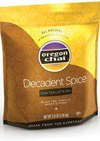 DECADENT SPICE CHAI TEA LATTE MIX: A bolder, more indulgent Chai Tea. #oregon #chai #kerry #foodservice