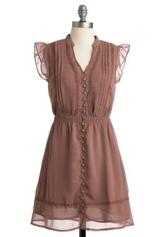 Cute dress but not sure about the color and most dresses from Mod Cloth are indecently short for me :(