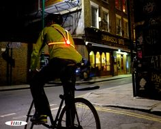Top 7 Futuristic Bike Lights Making Cyclists Safer #tech #technology