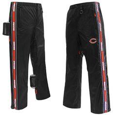 Chicago Bears Tailgate Pants - Black