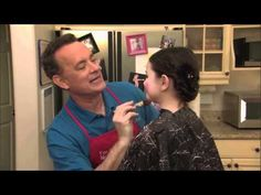 Tom Hanks and his daughter mocking Toddlers & Tiaras.