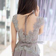 dress lace, instagram, gorgeous dressesgown, kulikova kulikova, batik, vera kulikova, grey, verakebaya dress, kulikova anggraini
