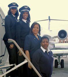 african americans, pilots, femal flight, africanamerican, robins, atlanta, black histori, flight attendant, flight crew