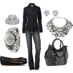 , jean, fashion, purs, black outfits, style, black boots, necklac, casual outfits, shoe