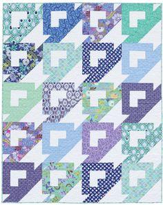 Hidden Baskets quilt by Victoria Eapen