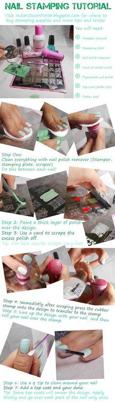 Nail Stamping tutori