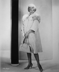 Doris Day in one of the outfits designed by Irene for Lover Come Back,1961