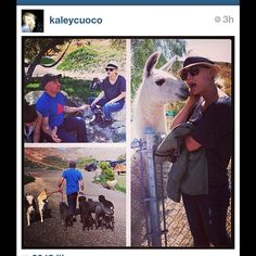 A great day at the DPC! #regram @Kaley Cuoco Lover
