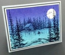 Stampscapes with Janet Winkle
