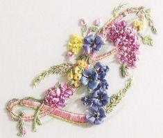 I ❤ ribbon embroidery . . . beautiful!