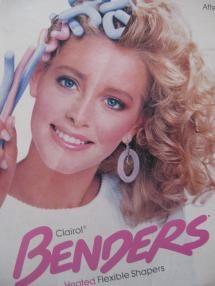 OMG...these were everywhere in the 80's! Cheerleader hair!!!